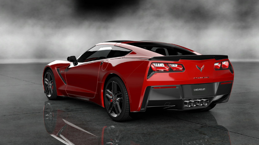 2019 Chevy Corvette Stingray redesign