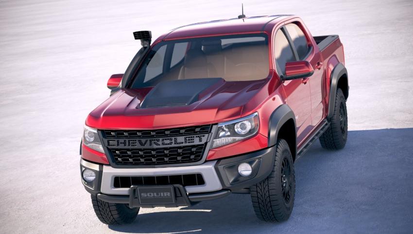 2019 Colorado ZR2 Bison design