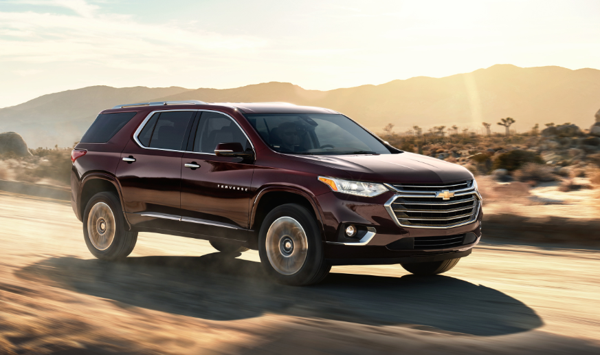2020 Chevrolet Traverse design