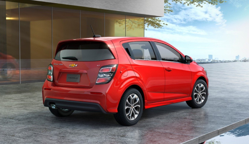 2020 Chevy Sonic redesign