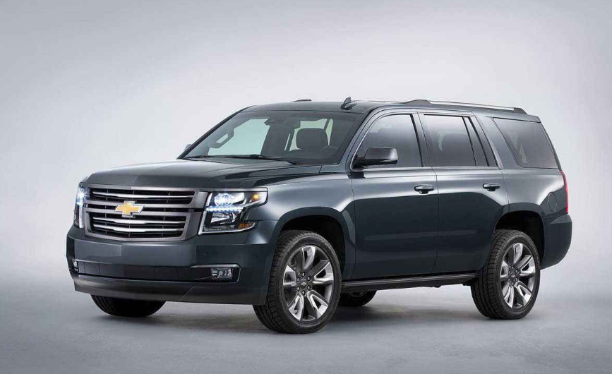 2020 Chevy Tahoe LTZ redesign