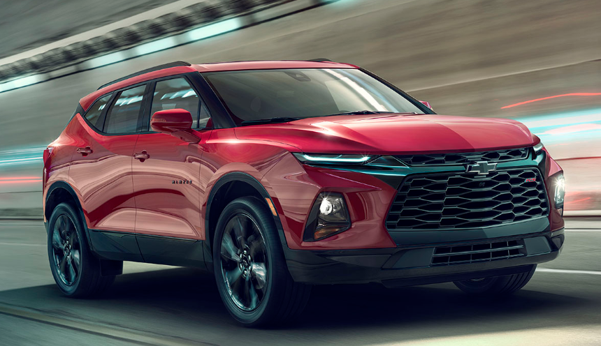 2020 chevrolet Blazer SUV news