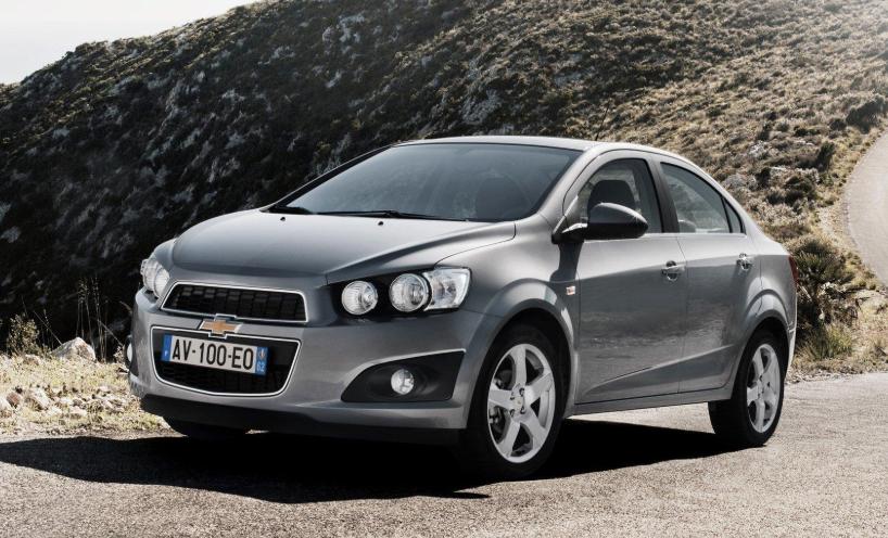 Chevrolet Aveo 2020 redesign