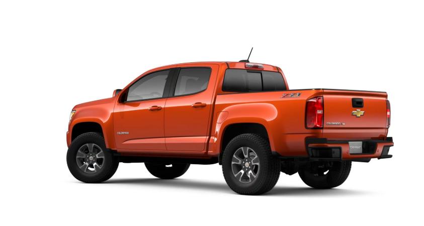 2019 Chevrolet Colorado Truck design