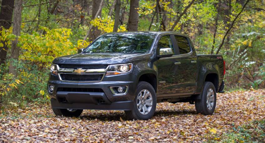 2019 Chevy Colorado 4 Cylinder redesign