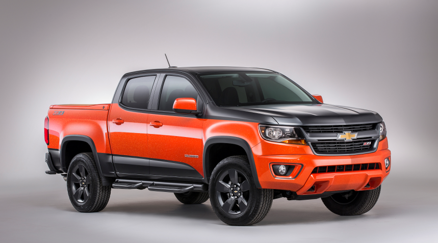 2019 Chevy Colorado 4 Door changes