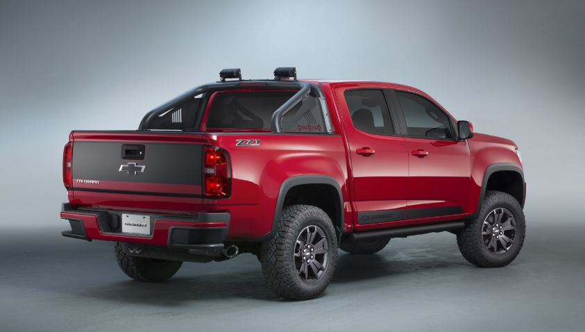 2019 Chevy Colorado 4x4 redesign