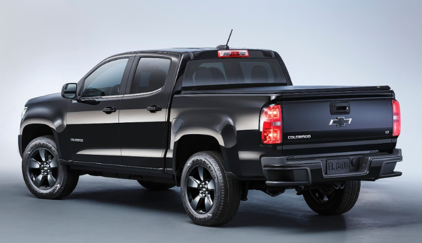 2019 Chevy Colorado Black Colors