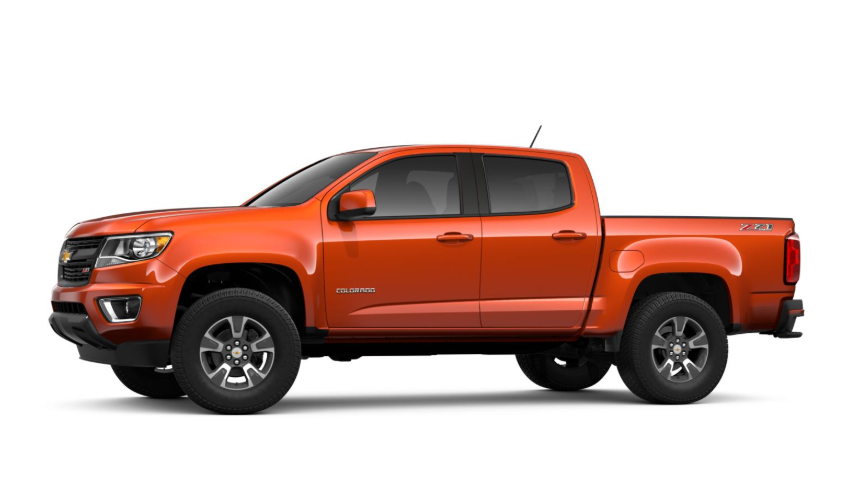 2020 Chevy Colorado Crew Cab 4x4 Diesel