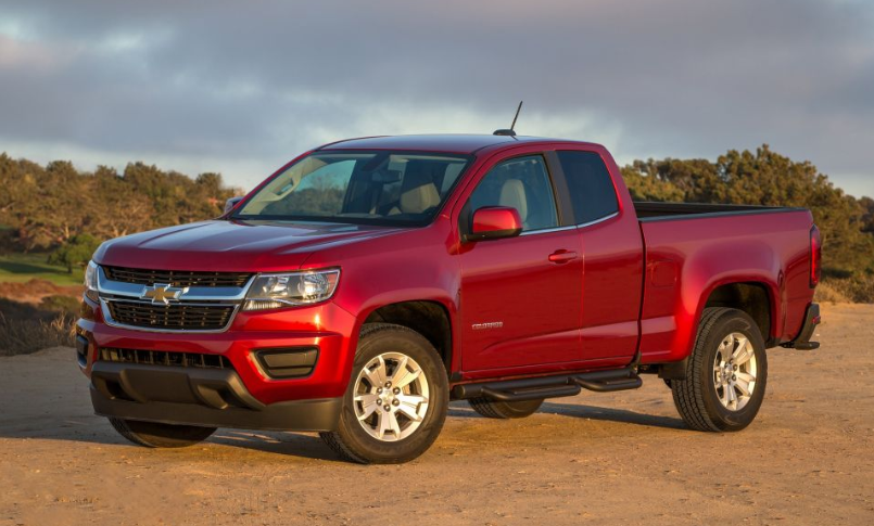 2019 Chevy Colorado LT redesign