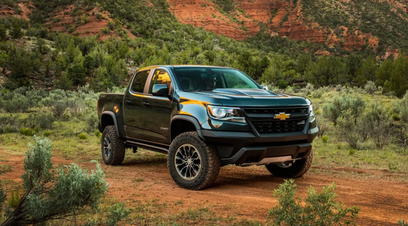 2019 Chevy Colorado Off Road design