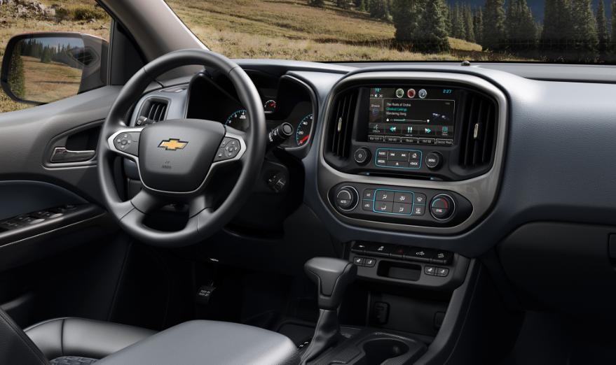 2019 Chevy Colorado Pickup design