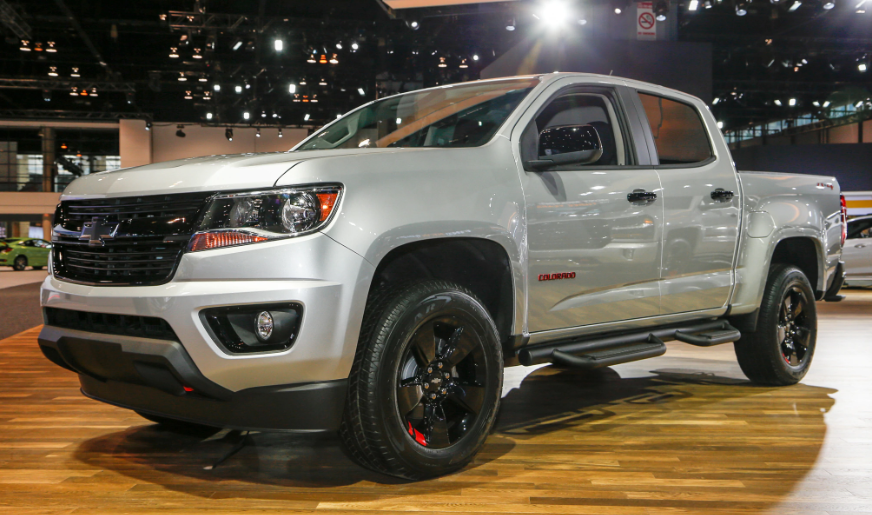 2019 Chevy Colorado Redline Edition design