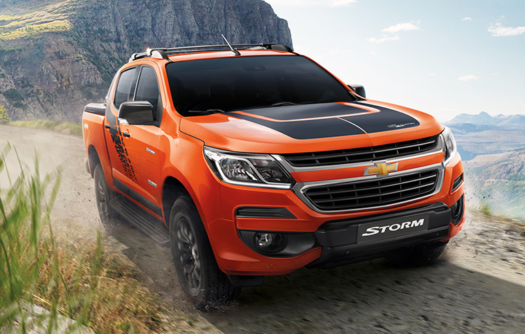 2019 Chevy Colorado Storm redesign
