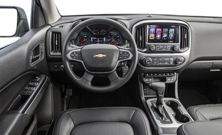 2019 Chevy Colorado V6 design