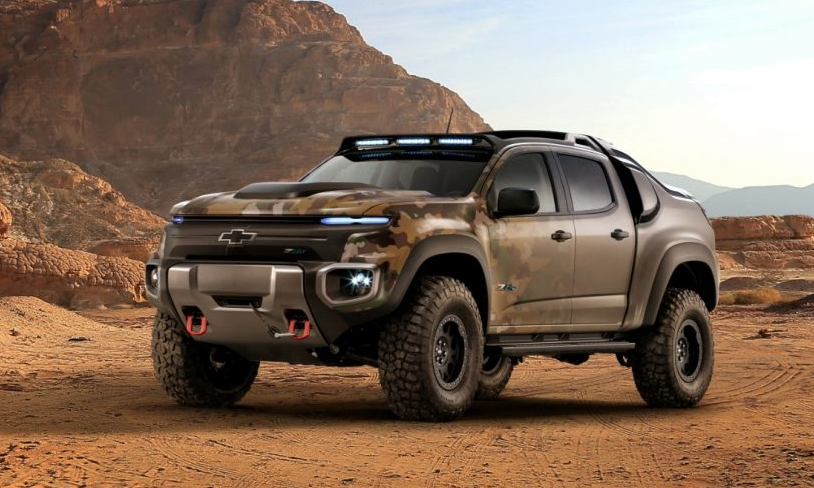 2019 Chevy Colorado ZH2 review