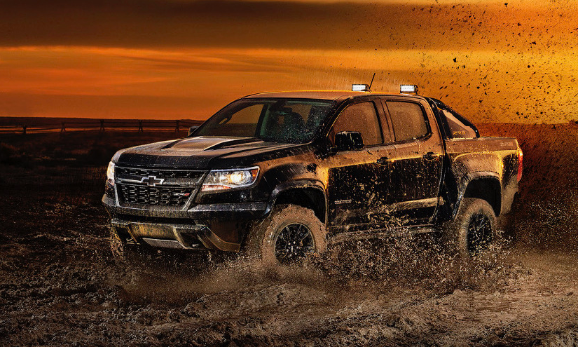 2019 Chevy Colorado ZR2 Dusk design