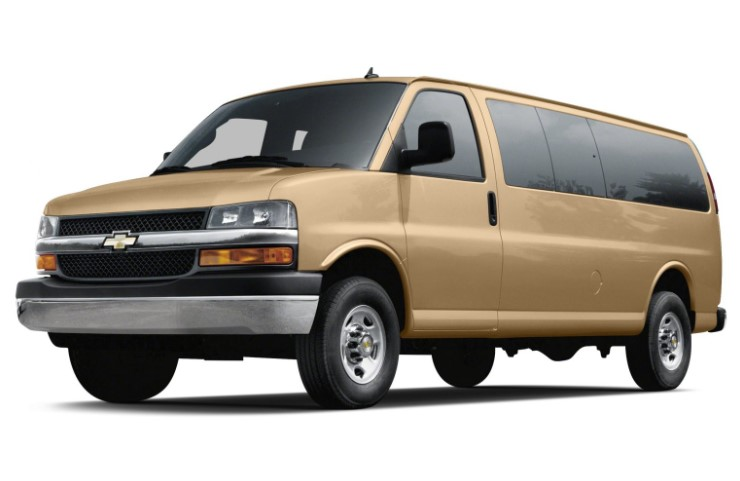 2019 Chevy Express redesign