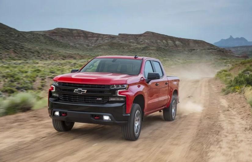 2019 Chevy Silverado Trail Boss changes