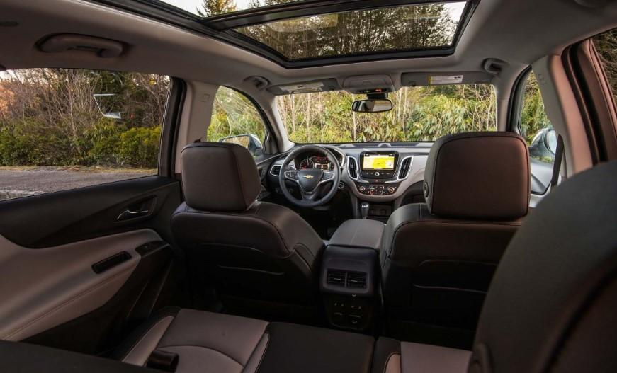 2020 Chevrolet Equinox FWD changes