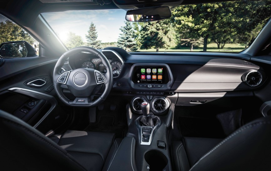 2020 Chevy Camaro 3LT changes