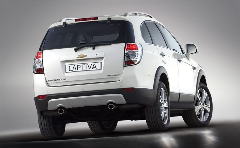 2020 Chevy Captiva concept