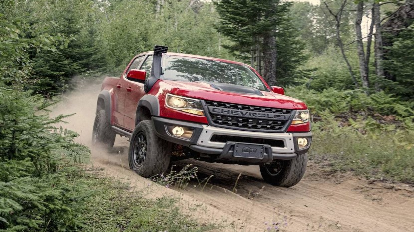 2020 Chevy Colorado ZR2 Bison concept