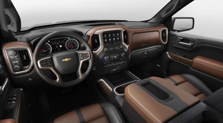 2020 Chevy Silverado 1500 changes