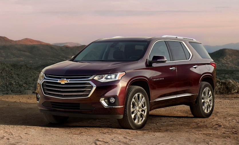 2020 Chevy Traverse changes