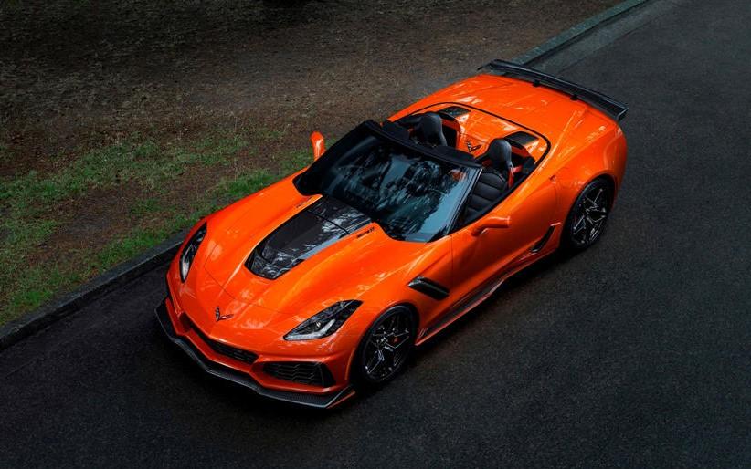 2020 Chevrolet Corvette ZR1 Coupe changes