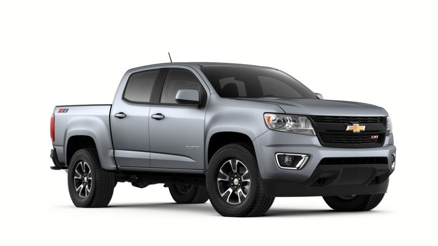 2020 Chevy Colorado 4x4 design