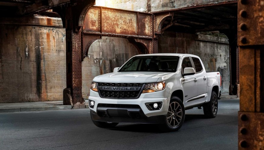 2020 Chevrolet Colorado RST changes