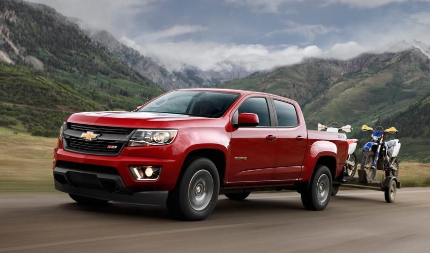 2020 Chevrolet Colorado Towing Capacity release date