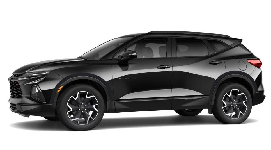 2020 Chevy Blazer SS Black Colors