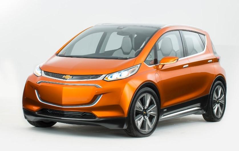 2020 Chevy Bolt EV design