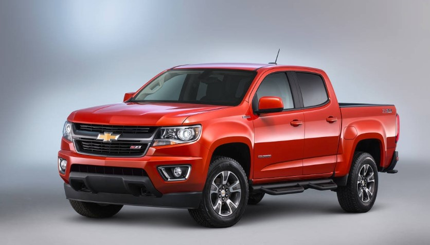 2020 Chevy Colorado Crew Cab 4x4 Diesel design