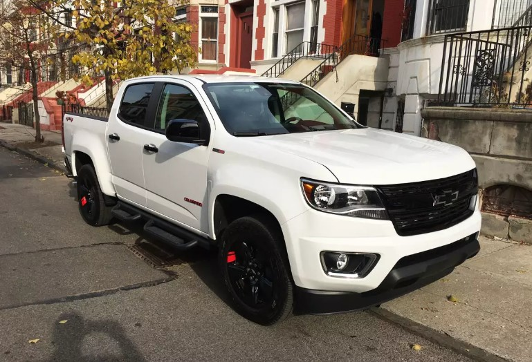 2020 Chevy Colorado Redline Edition changes