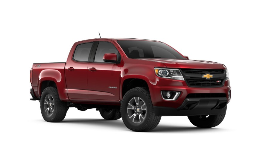 2020 Chevy Colorado V6 changes