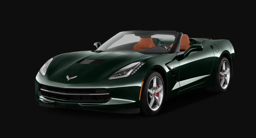 2020 Chevy Corvette Stingray Convertible concept