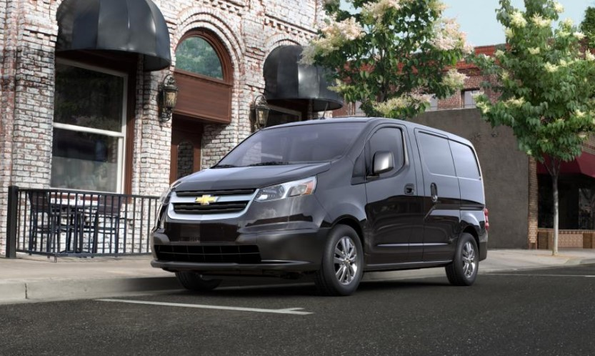 2020 Chevrolet City Express Miniva changes