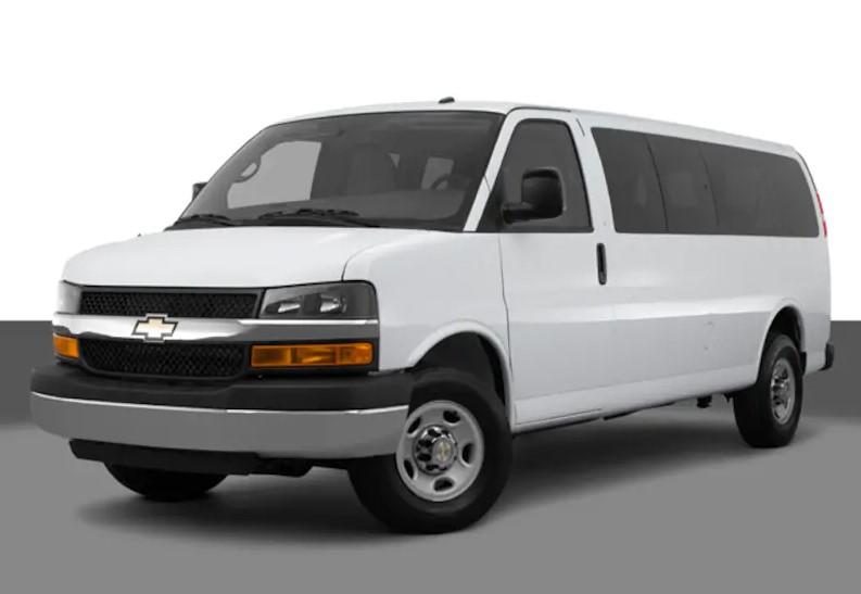 2020 Chevrolet Express 3500 Passenger design