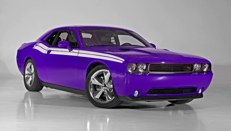 Dodge Barracuda 2019 Purple redesign