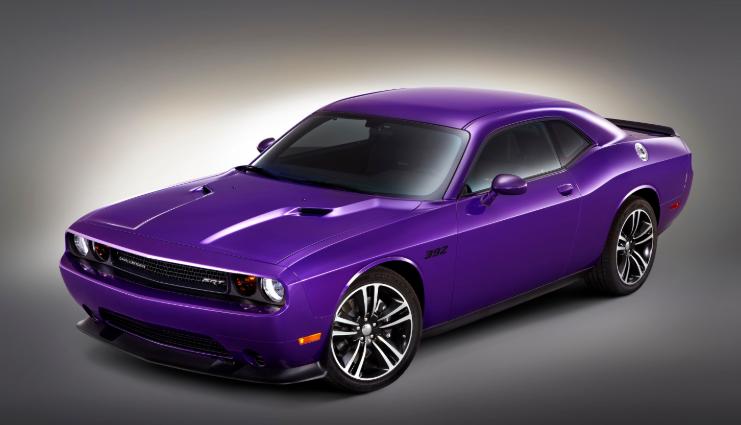 Dodge Barracuda 2020 Purple