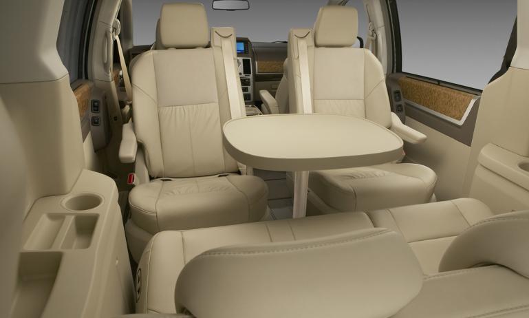 2019 Dodge Caravan SXT interior