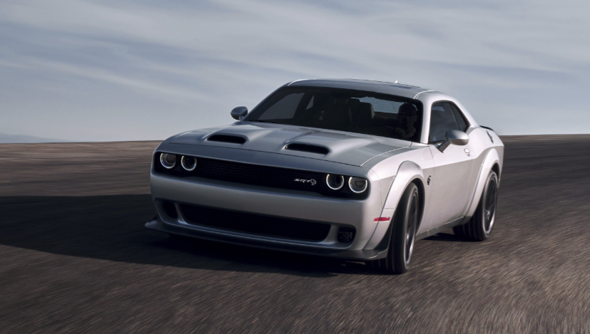 2019 Dodge Challenger SRT Hellcat redesign
