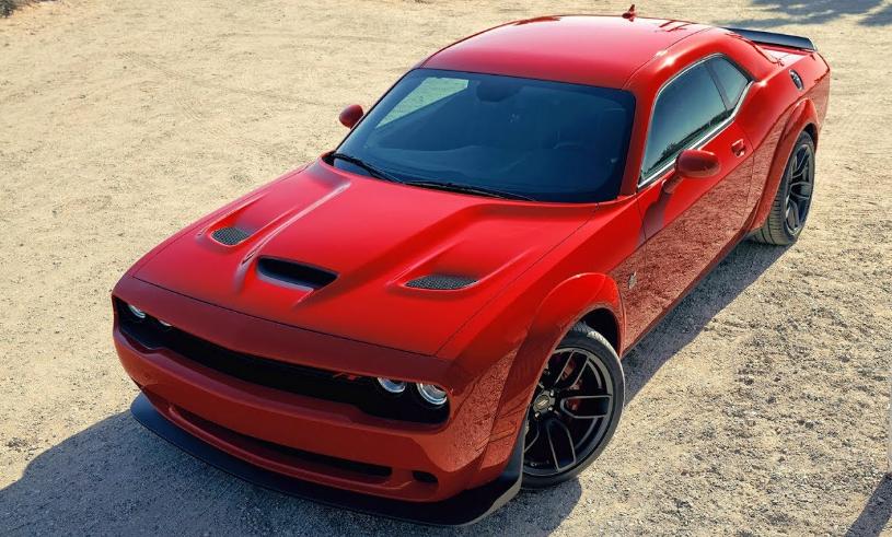 2019 Dodge Challenger Scat Pack Widebody release