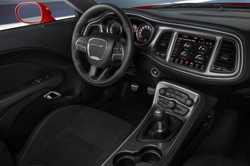 2019 Dodge Challenger design