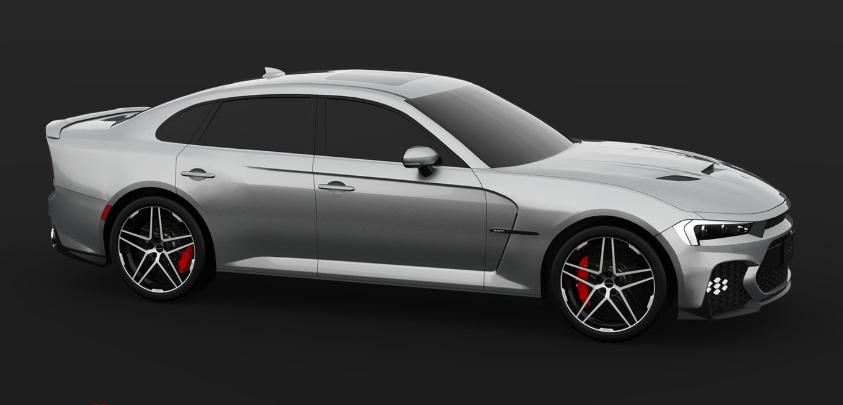 2019 Dodge Charger Facelift design