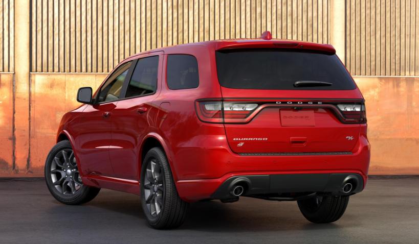 2019 Dodge Durango RT release date