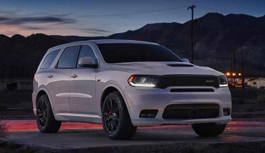 2019 Dodge Durango SRT redesign